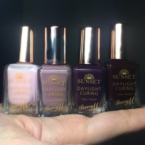 Barry M AW2015 Sunset daylight Curing Polish
