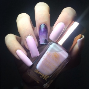 Barry M AW2015 Sunset daylight Curing Polish Do You Pink I'm sexy Swatch