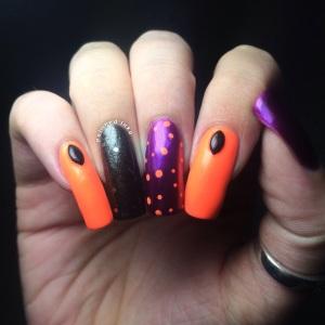 Polished Inka Orly Dotticure Nail Art
