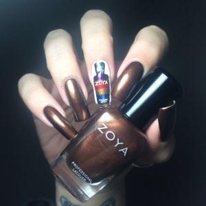 Zoya Fall 2015 Flair Collection Cinnamon Swatch