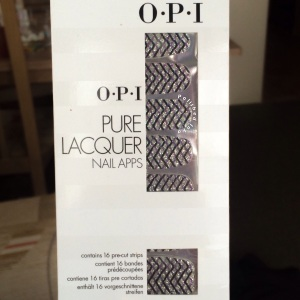 o.p.i pure lacquer nail apps