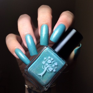 coloristiq september manicure box  danglefoot polish bluedapest
