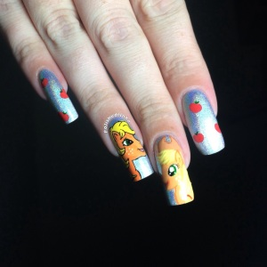 My Little Pony Nail Art Color Club Harp On It