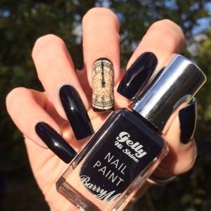 Polished Inka Barry M Midnight Gelly Black Grape
