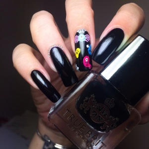 September Nailbox UK  True Brit London Taxi Cab Swatch