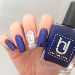 hJ manicure Swatch Review midnight sky