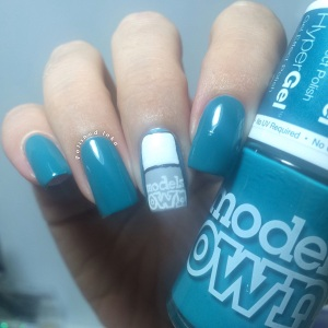 Models Own Twilight Collection Autumn/ Winter 2015 Teal Swatch