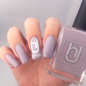 hJ manicure Swatch Review  thunderstorm