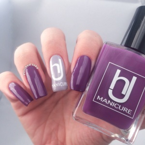 hJ manicure Swatch Review purple paradise
