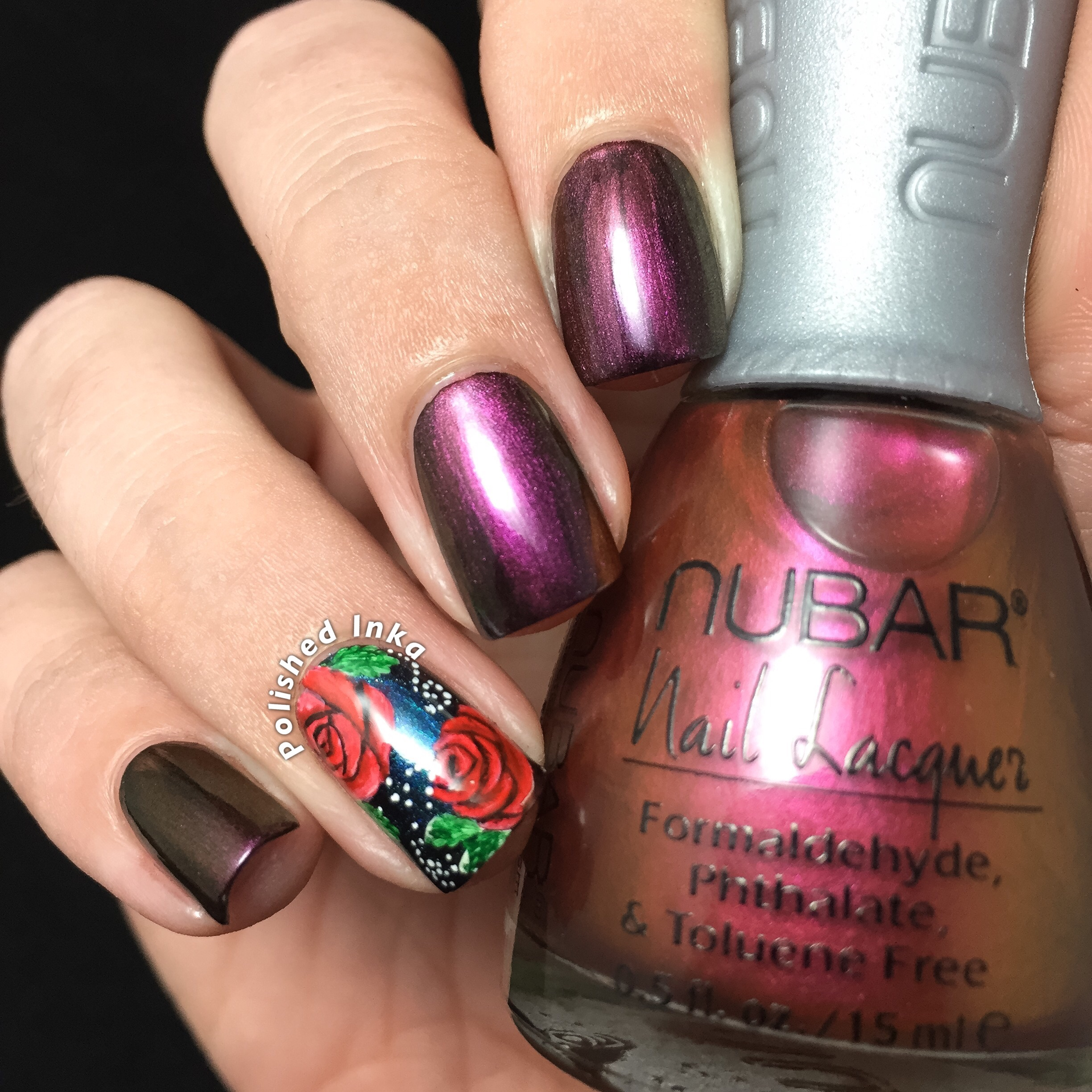 Nubar Chromatic Collection Fall 2015 Bonfire Swatch