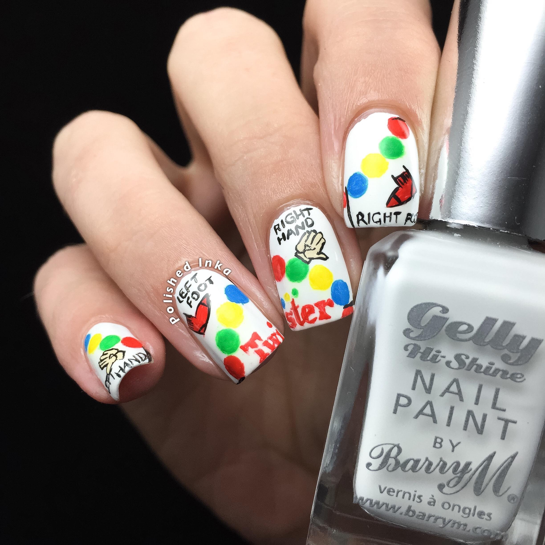 Twister Nail Art