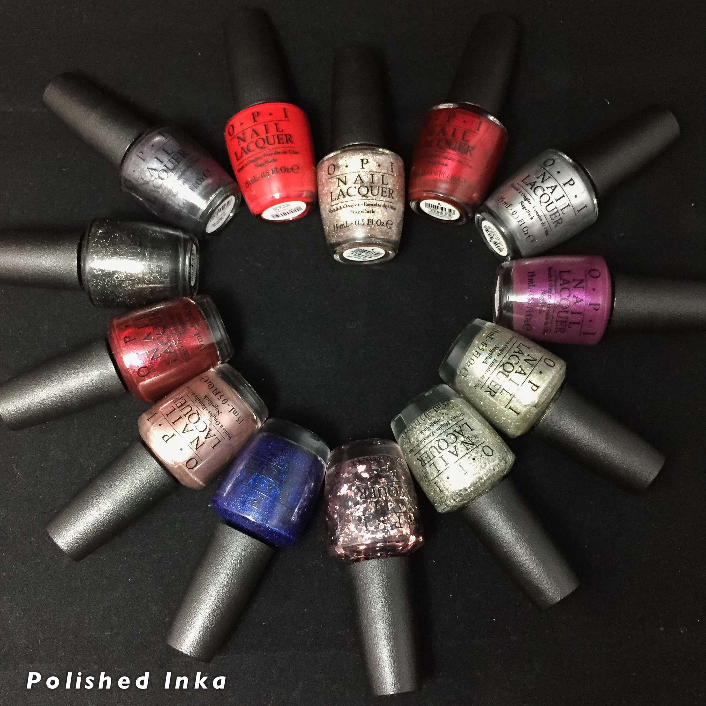 OPI Starlight Collection Christmas 2015