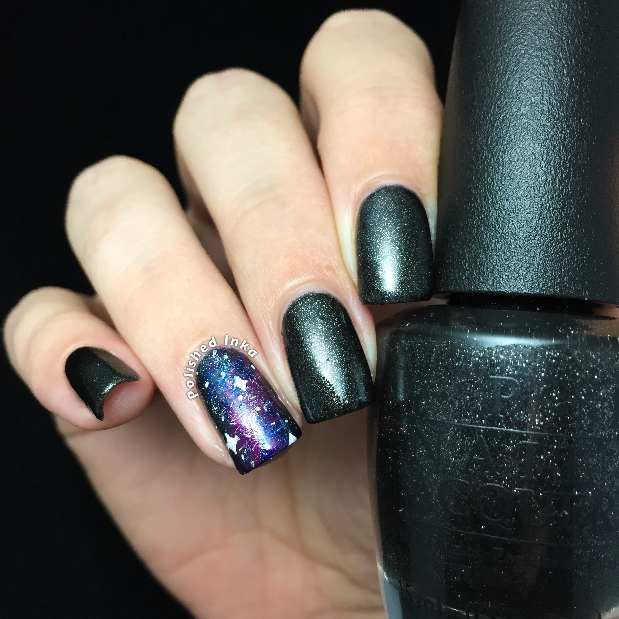 OPI Starlight Collection Christmas 2015 Center Of The You-niverse Swatch