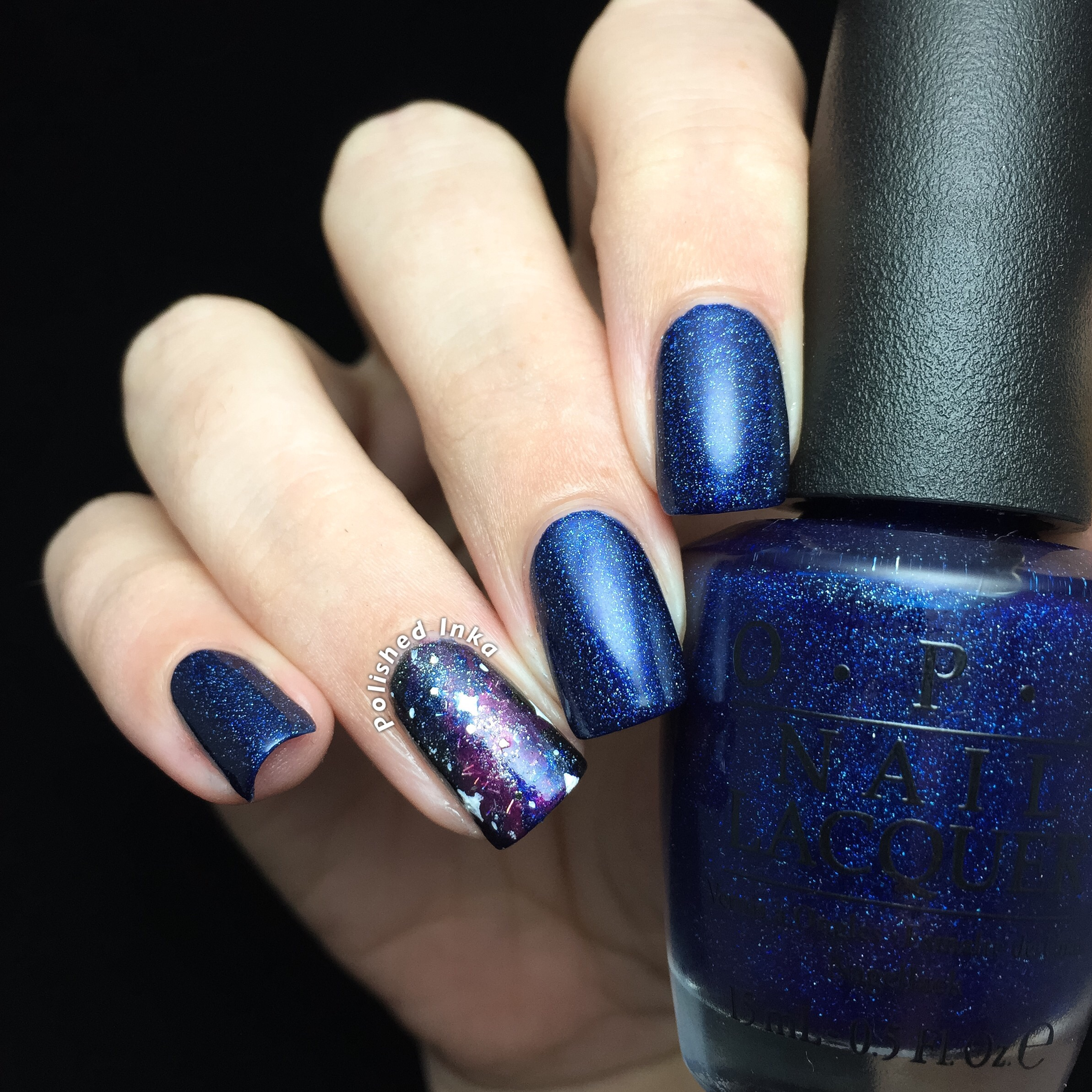 OPI Starlight Collection Christmas 2015 Give Me Space Swatch