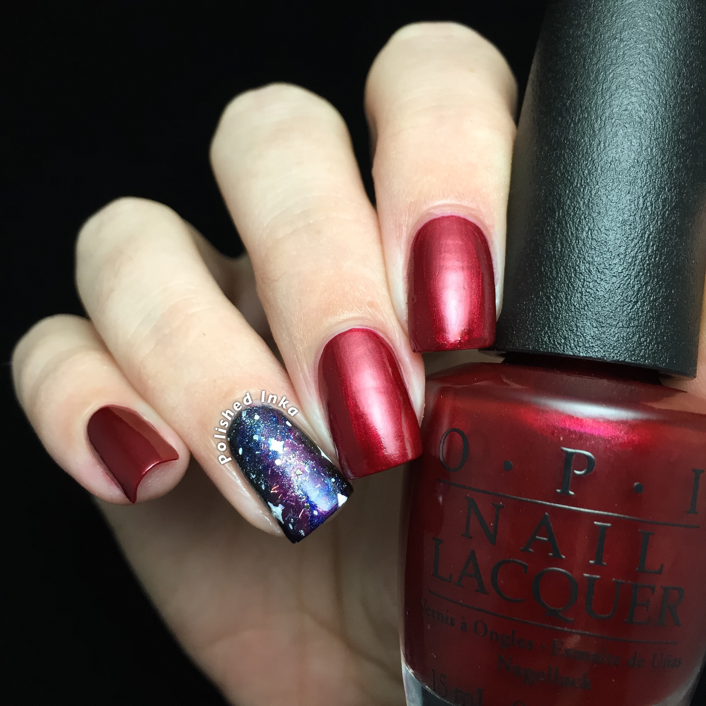 OPI Starlight Collection Christmas 2015 Ro-man-ce On The Moon Swatch