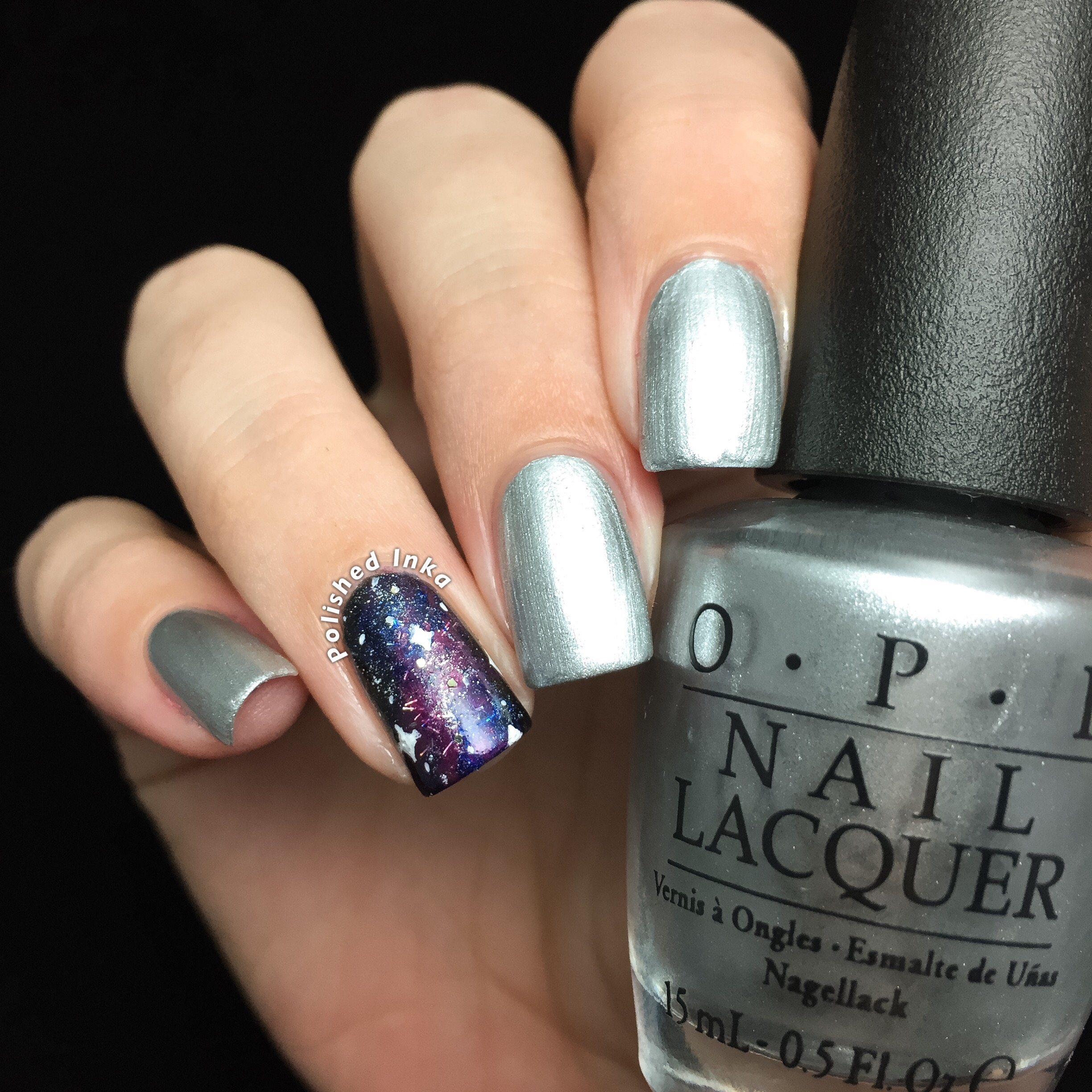 OPI Starlight Collection Christmas 2015 I Drive A Supernova