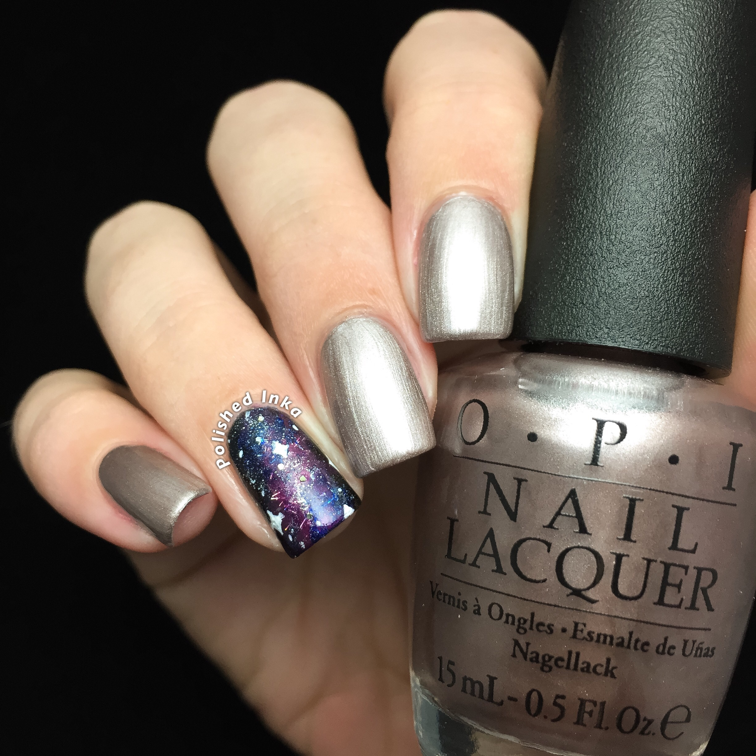 OPI Starlight Collection Christmas 2015 Press * For Silver Swatch