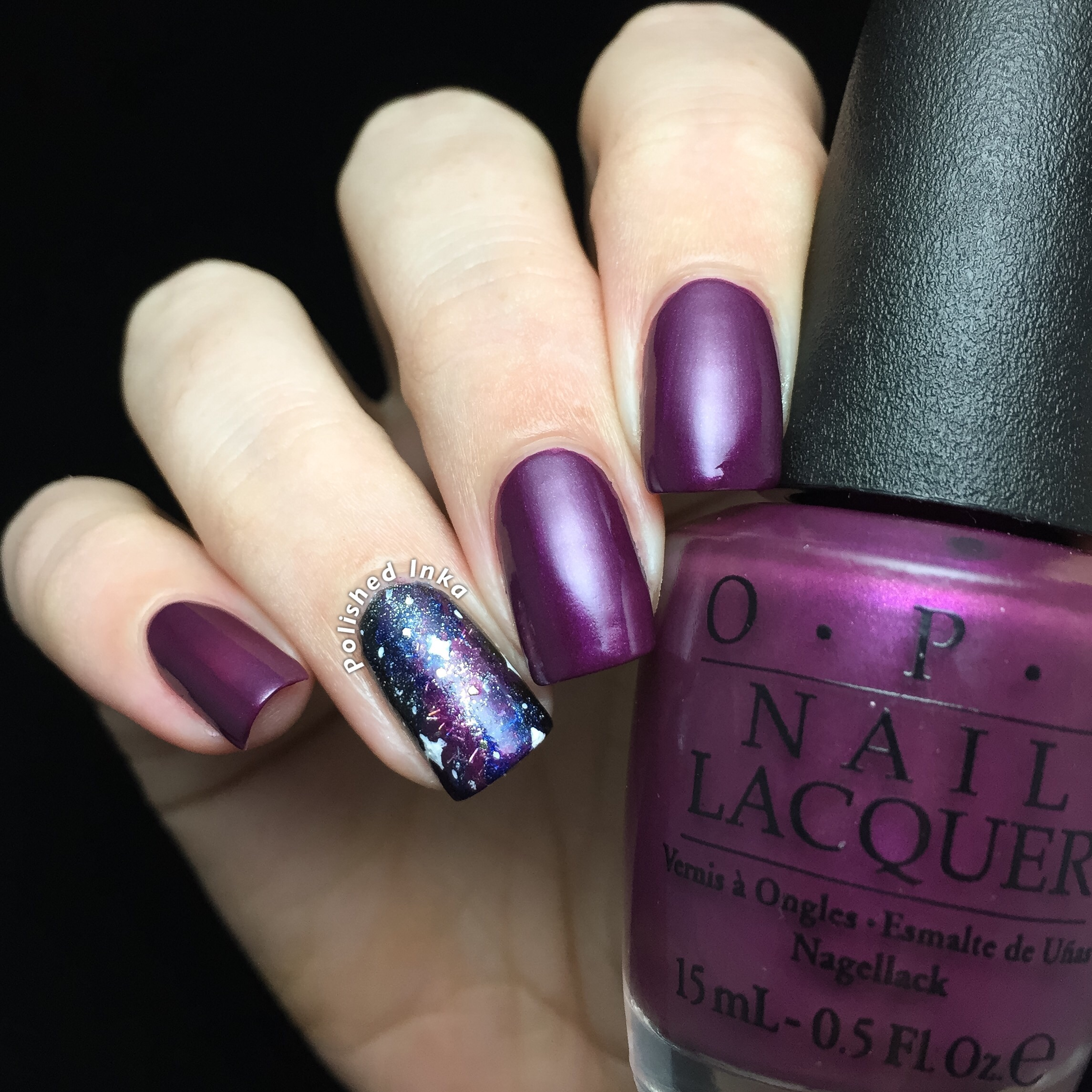 OPI Starlight Collection Christmas 2015 I'm In The Moon For Love Swatch