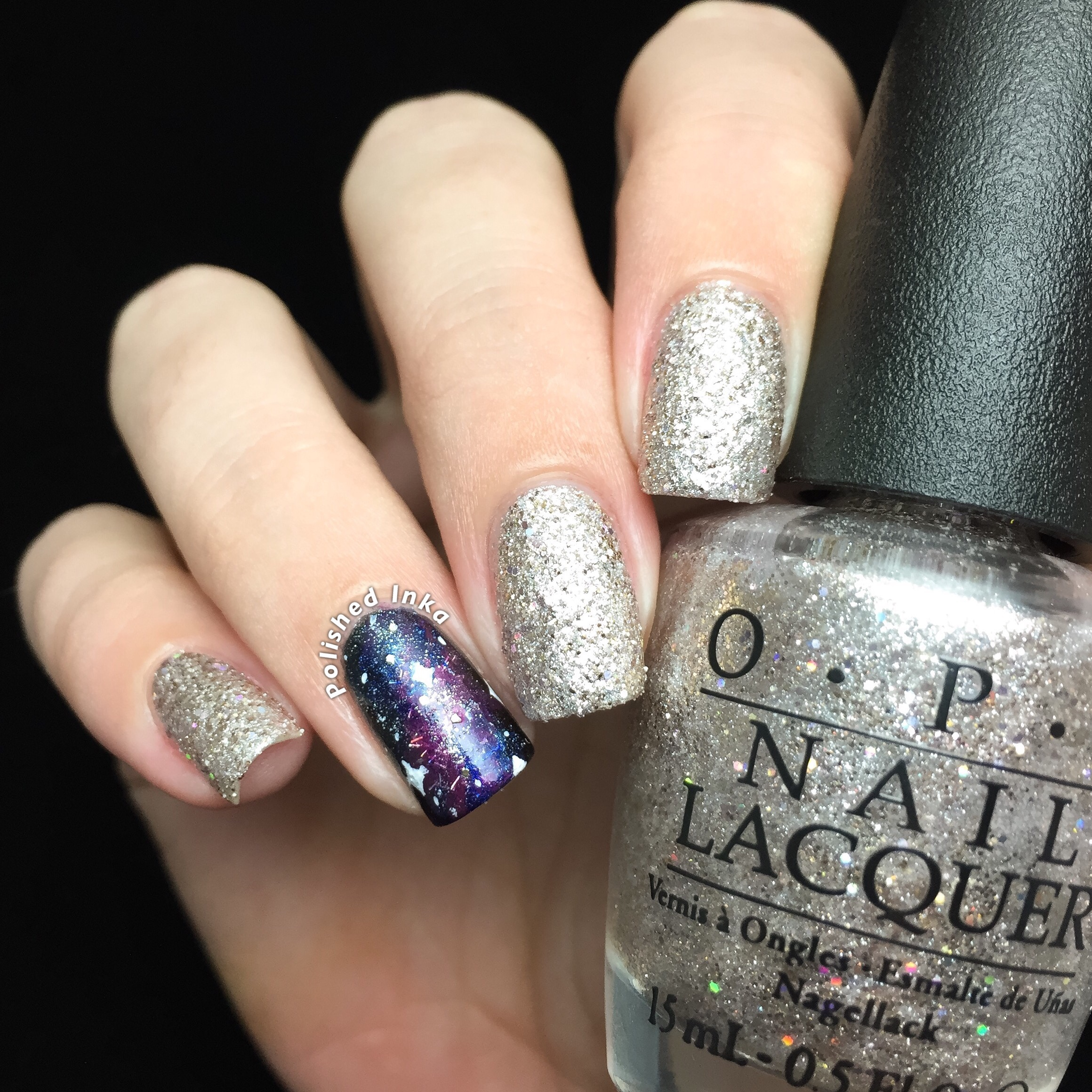 OPI Starlight Collection Christmas 2015 Ce-Less-tial Is More Swatch