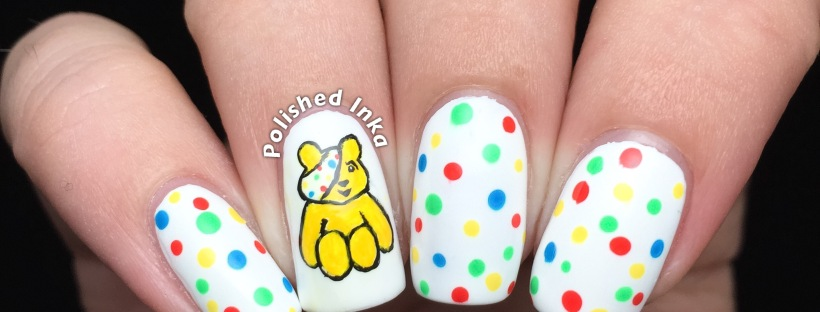 Children In Need Nail Art Polished Inka