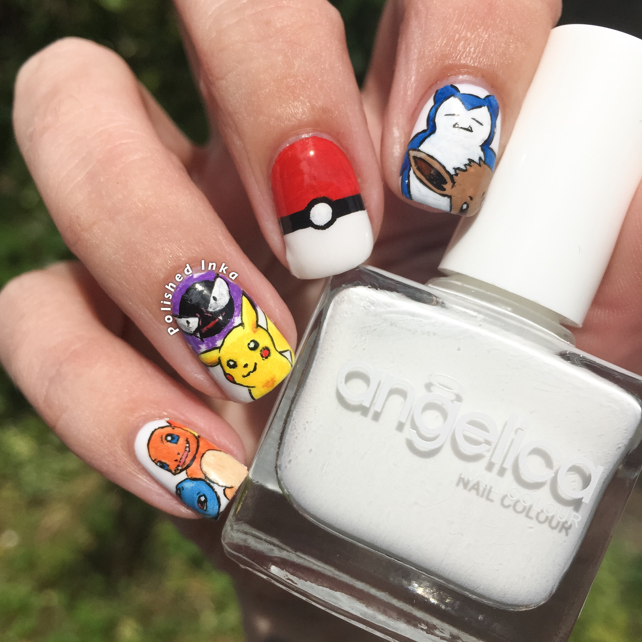 Pokemon Nail Art Polished Inka
