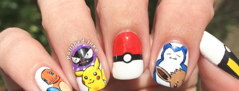 Pokemon nail art polished inka prinsesfo Choice Image