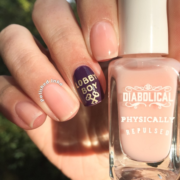firebox.com diabolical nail varnish  physically repulsed swatch review