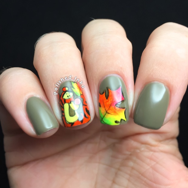 Tigger Autumn Nail Art Color Club Into The Woods